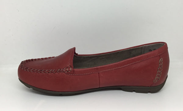 Naturalizer Kellyn Classic Dark Venom Red Leather Loafer Moccasin