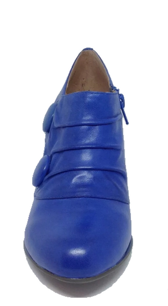 Miz Mooz CoCo Cobalt Leather boot heel SALE