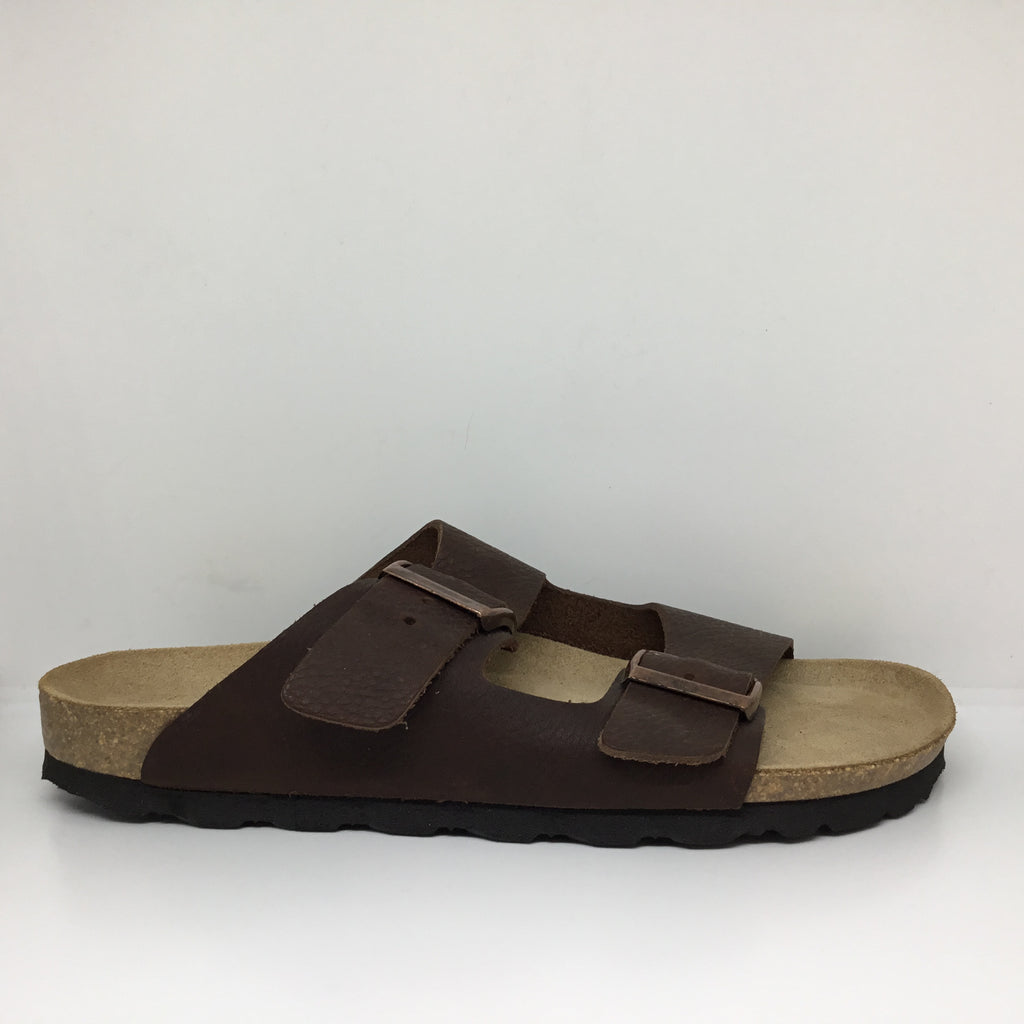 Klouds Silver Lining Hawaii Mens Sandal Coffee Leather