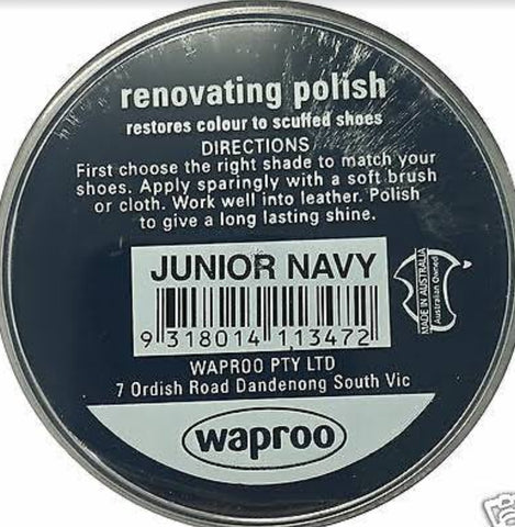 Waproo Nourishing Renovating Polish Junior Navy 45g