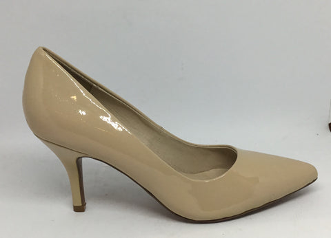 Top End Kamil Nude Patent Heel