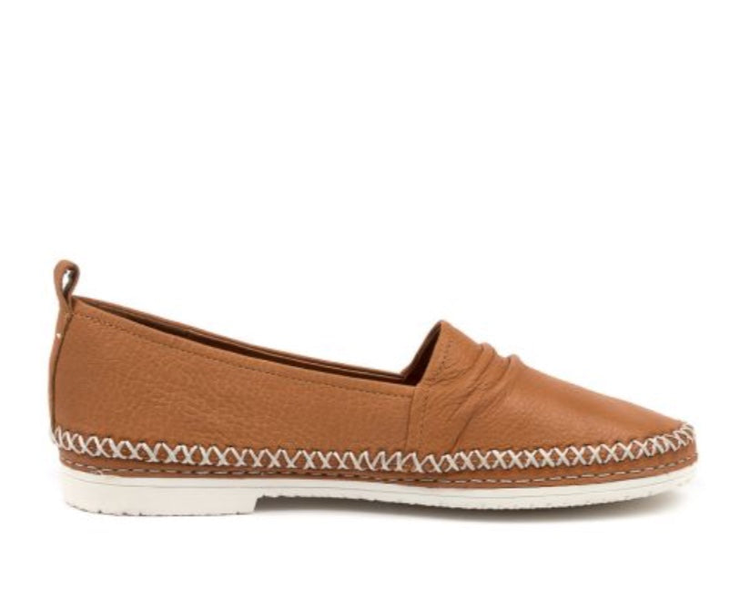 Django & Juliette Vaden Tan Leather Slip On