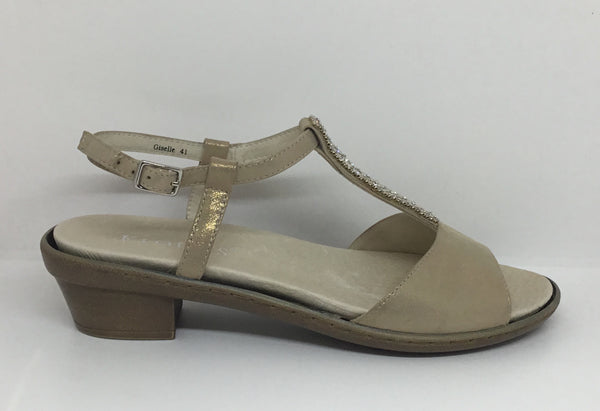 Klouds Giselle Gold Taupe
