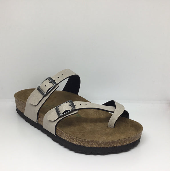 Birkenstock Mayari Pull Up Stone Vegan Regular Fit