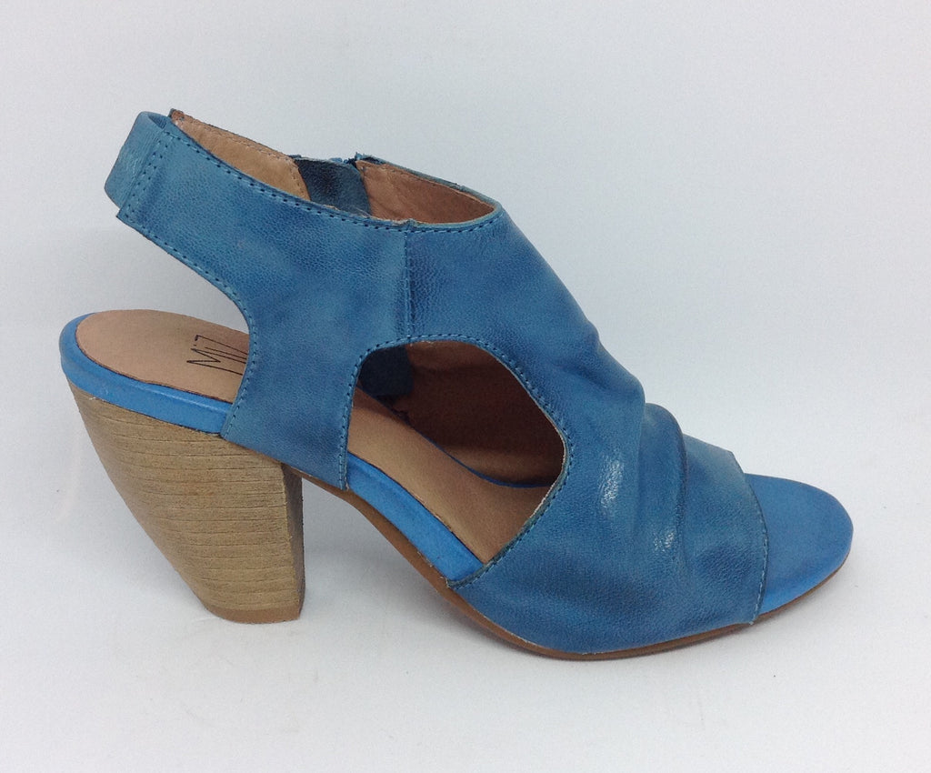 Miz Mooz Stockist Miz Mooz Wales Blue Leather