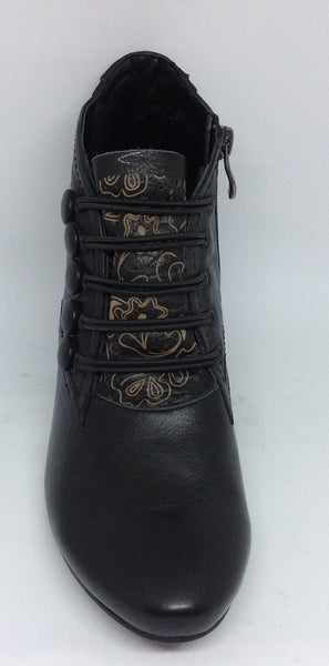 CBD Christiano Bellaria Design New Unity Black Leather boot