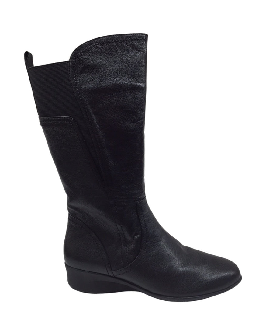 CBD Ernie Boot Black Leather Boot