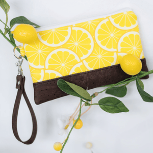Grove Mini Wristlet - Lemon