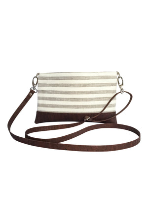 Small Adjustable Crossbody in Beige
