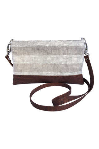 Everyday Small Crossbody in Beige (not adjustable)