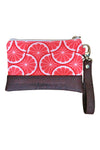 Grove Mini Wristlet - Pink Grapefruit