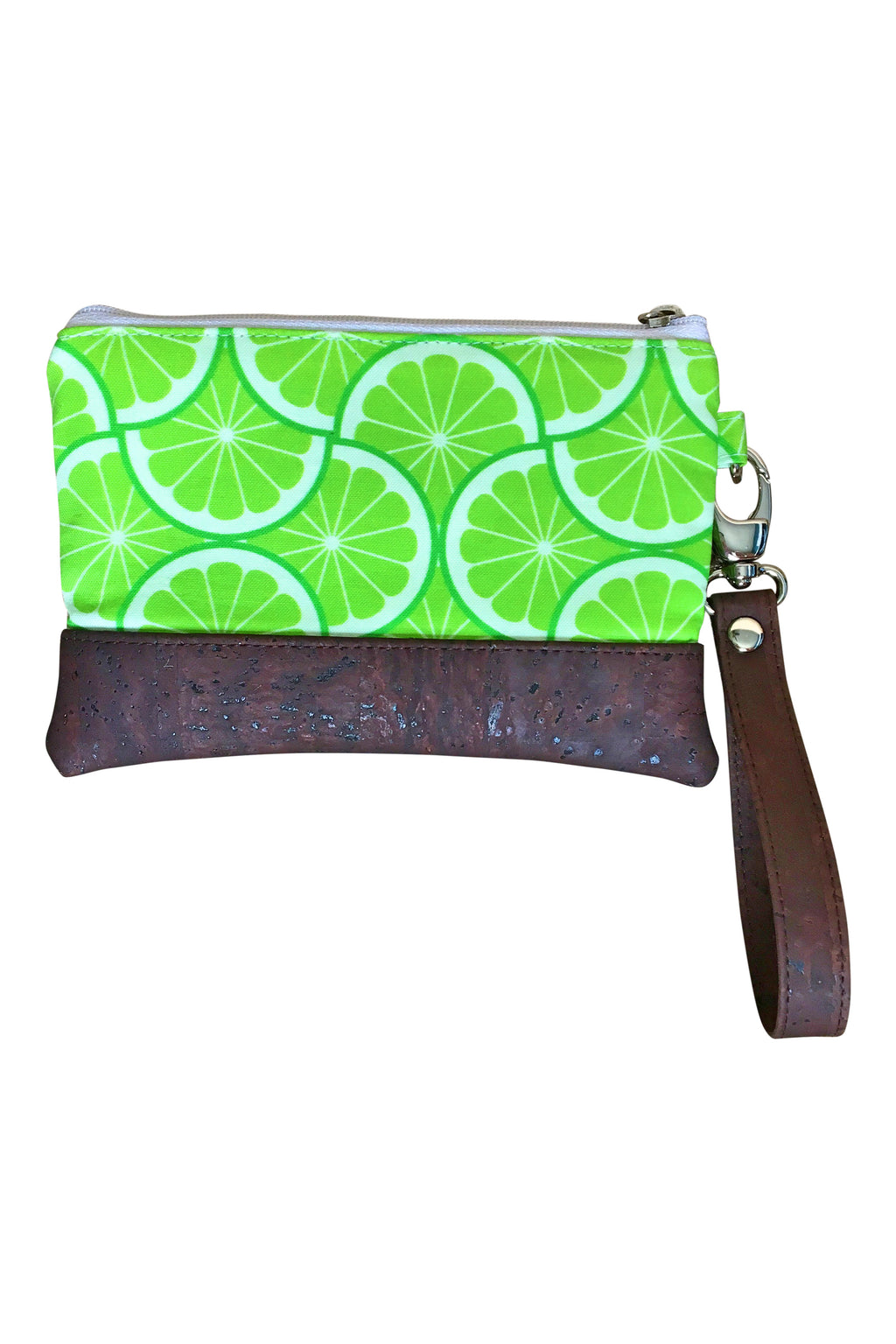 Grove Mini Wristlet - Lime