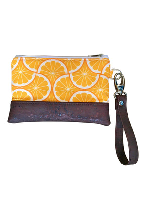 Grove Mini Wristlet - Orange