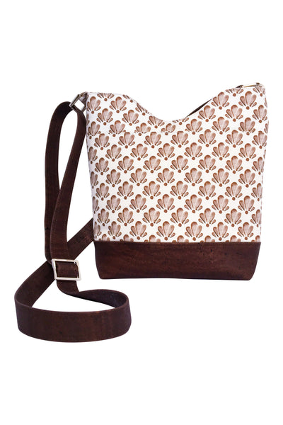 Everyday Crossbody Purse in Chocolate Shell