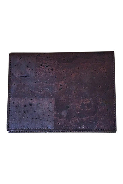 Brown Slim Cork Wallet