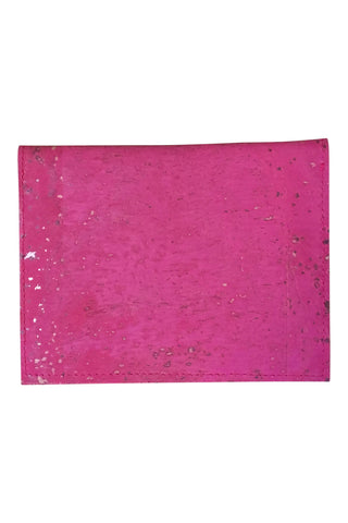 Pink Slim Cork Wallet