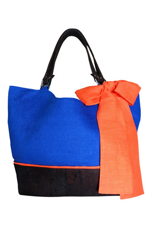Go Team! Orange and Blue Tote