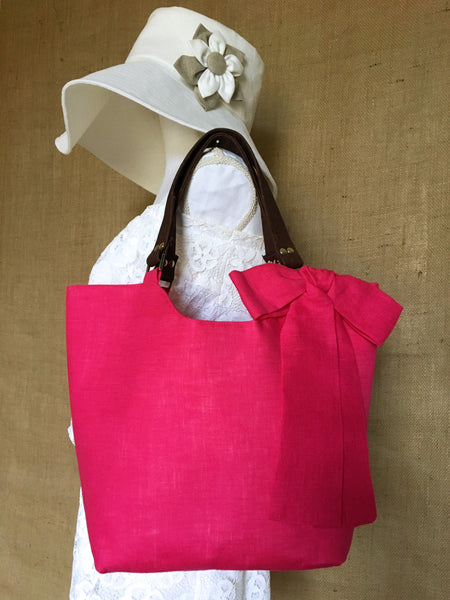 Cabana Tote - Strawberry Daiquiri