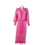 Seidenkimono Flower of Life, pink