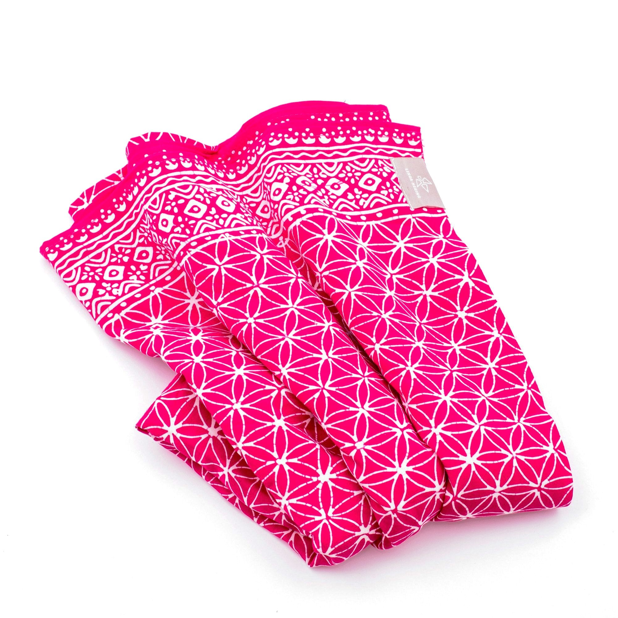 Sarong Flower of Life pink
