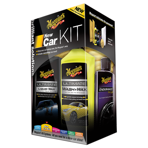 Набор для ухода за автомобилем Brilliant Solutions New Car Kit