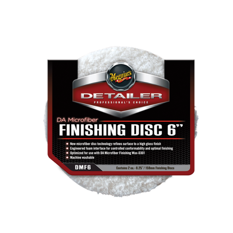 "Финишный полировальник DA Microfiber Finishing Disc 6"" - Meguiars Market"