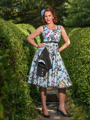 Audrey dress in Belle Fleur by Cherry Bomb Vintage Couture