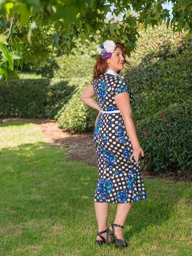Bettie - Polkadot Posy sz 12