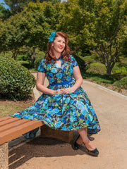 Eva dress in Enchanted by Cherry Bomb Vintage Couture
