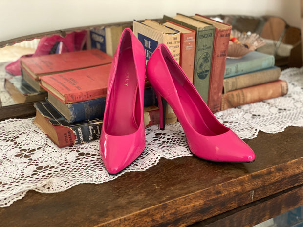 Pleaser Hot Pink Pumps sz 10