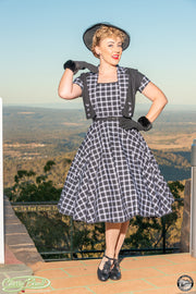 Audrey 'Perfect Plaid' Bolero