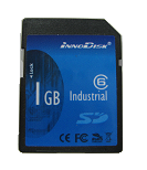 (010020122) SD card, Industrial 1GB