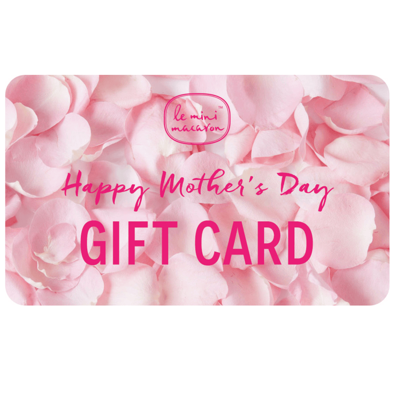 NEW Gift Card - Happy Mother's Day Le Mini Macaron