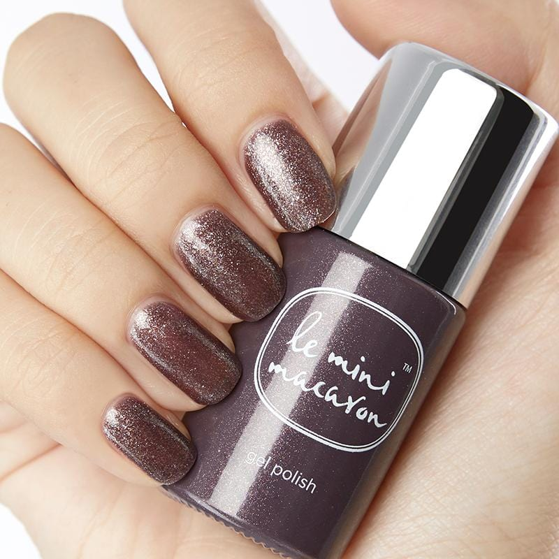 Chocolate Sparkle - Gel Polish - Le Mini Macaron