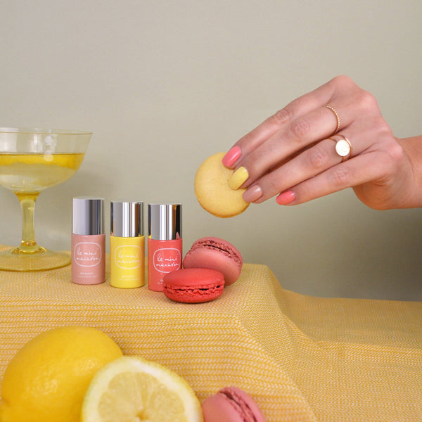 Gel Nail Polish Set Le mini Macaron