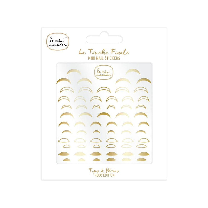 """La Touche Finale"" Mini Nail Stickers - Tips & Moons Le Mini Macaron"