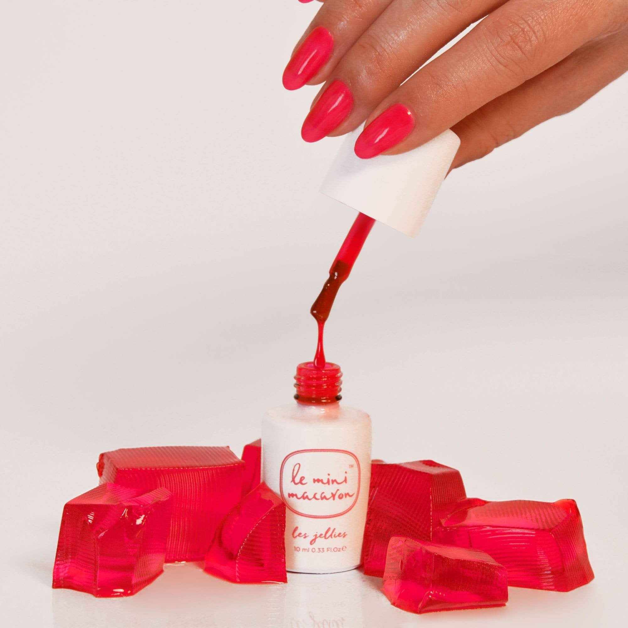 Strawberry Jelly Les Jellies Collection - Jelly Gel Polish - Le Mini Macaron