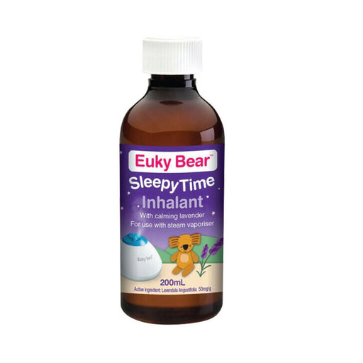 100ml Sleepy Time Inhalant Lavender Euky Bear Steam Vaporiser Sleep Relaxation-Euky Bear-ozdingo
