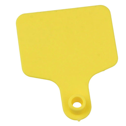 100x Cattle Ear Tags 6x7cm Set Blank Yellow Cow Sheep Medium Livestock Label Tag-Rooster Farms-ozdingo