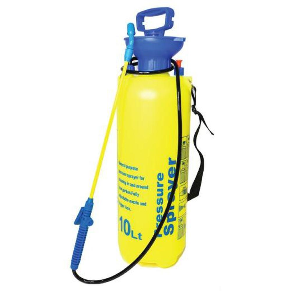 Pressure Garden Weed Sprayer 10L Knapsack Portable Yard Pump Pesticide Chemical-Gardening Supplies-Rooster Farms-ozdingo