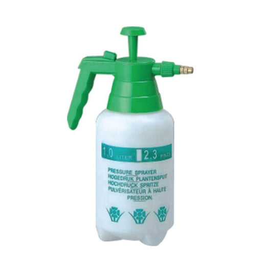 1L Hand Held Pressure Sprayer Plastic Pump Bottle Portable Weed Garden Water-Rooster Farms-ozdingo
