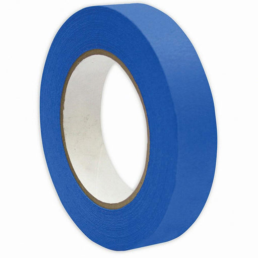 1x Blue Masking Tape 24mmx50m UV Resistant Painters Painting Outdoor Adhesive-Eco Storage-ozdingo