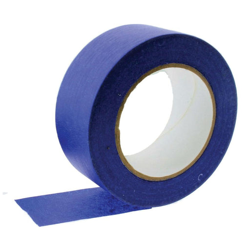 1x Blue Masking Tape 48mmx50m UV Resistant Painters Painting Outdoor Adhesive-Eco Storage-ozdingo