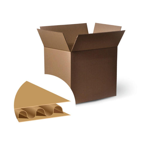 25x Cardboard Boxes 305x215x255mm Carton Box Moving Packing Storage Packaging-Eco Storage-ozdingo