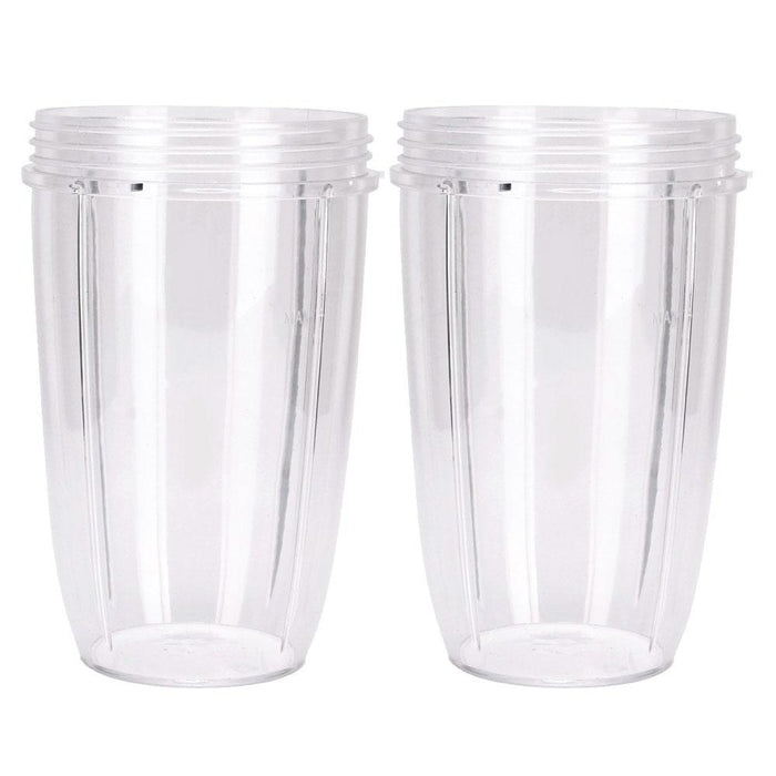 2X For Nutribullet Tall Cups 24 Oz Suits All Nutribullet 600 & 900 Models-Unbranded-ozdingo