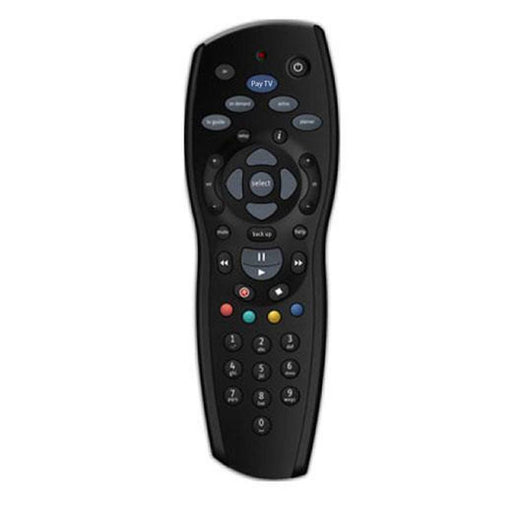 2x FOXTEL REMOTE Control Replacement For FOXTEL MYSTAR SKY NEW ZEALAND - Black-PAYTV-ozdingo