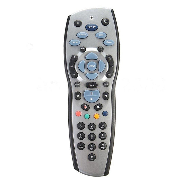 2x FOXTEL REMOTE Control Replacement For FOXTEL MYSTAR SKY NEW ZEALAND - Silver-PAYTV-ozdingo