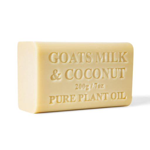 2x Goats Soap Goat Milk And Coconut 200g Bar Skin Care Pure Natural Australian-Orku-ozdingo