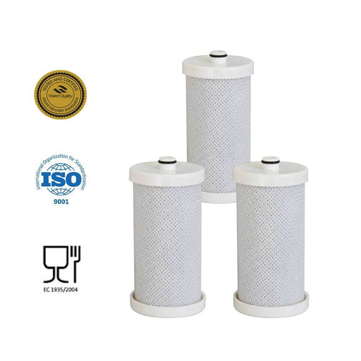 3 Pack Fridge Water Filter Cartridges RWF2300A RFC2300A Frigidaire WF1CB Kenmore-Golden Icepure-ozdingo