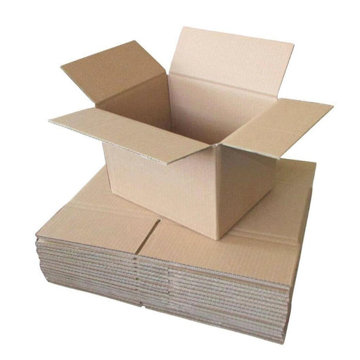 30x Cardboard Boxes 250x150x150mm Carton Box Small Moving Packing Storage Mail-Eco Storage-ozdingo